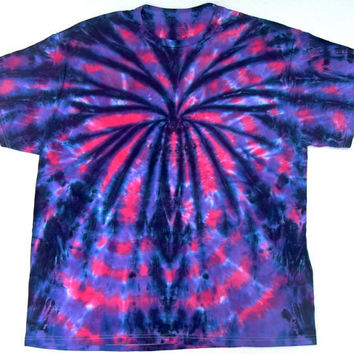 Tie Dye Shirt/ Adult XL/ Spooky Spider