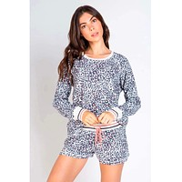 Leopard Thermal Long Sleeve