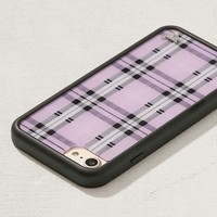 Wildflower Lavender Plaid iPhone 8/7/6 Case | Urban Outfitters