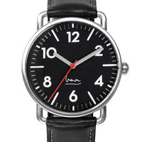 Witherspoon Watch Black by Michael Graves