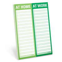 At Home / At Work Perforated Pad by Knock Knock - knockknockstuff.com