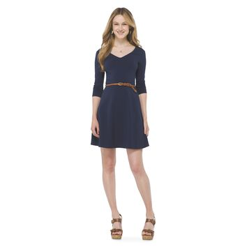 3/4 Sleeve Fit & Flare Dress - Mossimo Supply Co.