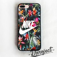 Nike Flower Logo Best Design Custom For iPhone 7 & 7 Plus Print On Hard Case