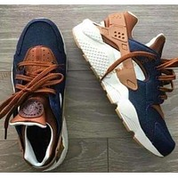 """NIKE""AIR Huarache Popular Women Men Running Sport Shoes Sneakers I"