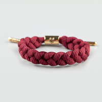 Rastaclat Merlot Bracelet Burgundy One Size For Men 21409632001