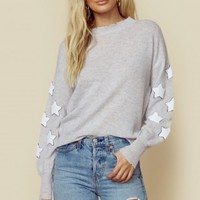 LUELLA STAR PATCH PULLOVER