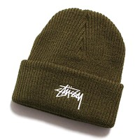 HO19 Stock Cuff Beanie Army Green
