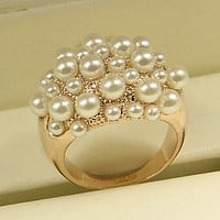 Fashion Restoring Ancient Ways Pearl  Ring