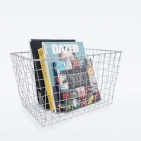 Copper Metal Basket - Urban Outfitters