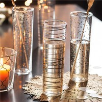 Luxe Moderne Glass Flutes (Set of 4)