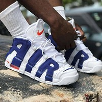 Nike Air More Uptempo men and women Gym shoes