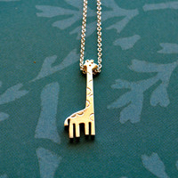 Nigel the Giraffe Necklace