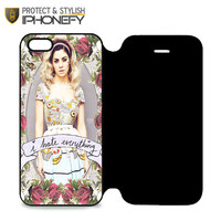 Marina And The Diamond Hate Everything iPhone 5|5S Flip Case|iPhonefy