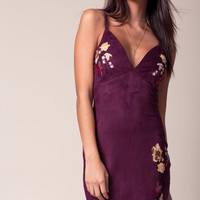 Cleo Embroidered Mini Dress