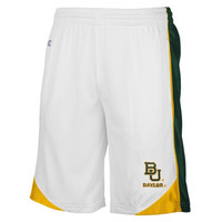 Baylor Bears Vector Mesh Shorts – White