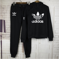 Adidas Cute Print Long Sleeve Jumpsuit Black