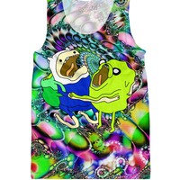 Adventure Time on Acid Tank Top