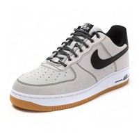 Nike Air Force 1 488298-068 Grey For Women Men Running Sport Casual Shoes Sneakers