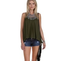 Olive Get In Swing Top