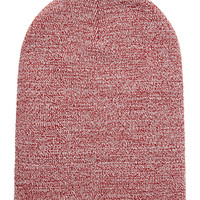 FOREVER 21 Heathered Ribbed Knit Beanie