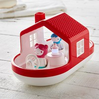 House Boat Light Up Bath Toy