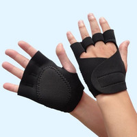 Fitness Gloves Weight Lifting Gym Workout Training Wrist Wrap Strap Women New