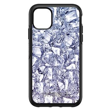 DistinctInk™ OtterBox Symmetry Series Case for Apple iPhone / Samsung Galaxy / Google Pixel - Crystal Clear Ice