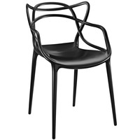 Entangled Dining Armchair Black