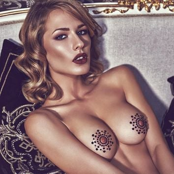 Sexy Sparkling Crystal Nipple Covers Anais Kallea