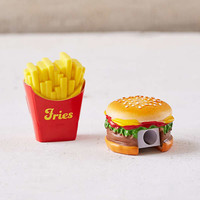 Fast Food Pencil Sharpener + Eraser Set | Urban Outfitters