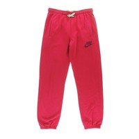 Nike Womens French Terry Pull On Sweat Pants
