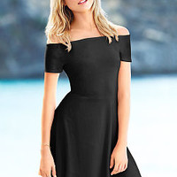 The Fit & Flare Dress - Essential Tees - Victoria's Secret