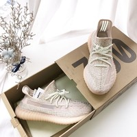 "adidas Yeezy Boost 350 V2 ""SYNTH"" Shoes original sneakers summer new running shoes legit"