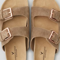 AEO Women's Double Buckle Sandal