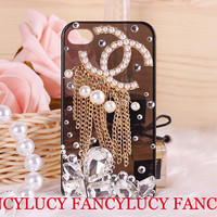 iphone case iphone 4 case iphone 4s bling case unique iphone case bling iphone 4 pearl case bling iphone case iphone 4 cover charms
