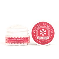 Peppermint & Vanilla Whipped Lip Butter -  Lip Moisturizer