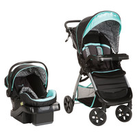 Safety 1st Amble Luxe Travel System w/ onBoard 35 Infant Car Seat (Black Ice) TR331CYG