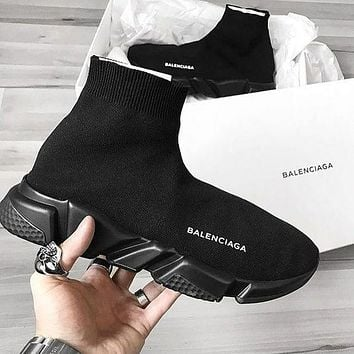 Boys & Men Women Balenciaga Sneakers Sport Shoes