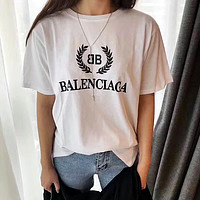 '' BALENCIAGA '' Women Simple T-shirt