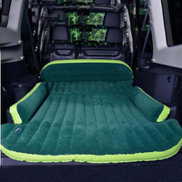 SUV Inflatable Mattress With Air Pump Travel Camping Moisture-proof pad Car Back Seat Sleeping Rest Mattress Car Sex Bed