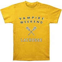 Vampire Weekend Men's  Lacrosse Slim Fit T-shirt Gold