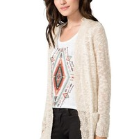 Slub Sweater Cardigan