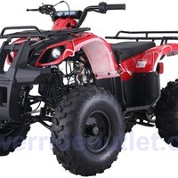"""PRO TT Type-D Yamaha Grizzly Clone 110cc ATV ( Big 19/18"""" Tires with 8"""" Wheels, Safety Remote Engine Shut Off Switch, Speed Limiter, Fully Automatic w/ Reverse, Big Size Body Frame, Fully Assembled Available)"""