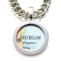 Dublin Map Bracelet [Jewelry]