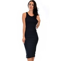 Hourglass Bodycon Midi Dress
