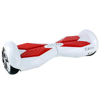 White and Red HoverBoard V5