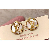 Louis Vuitton LV Tide Brand Female Retro Earrings