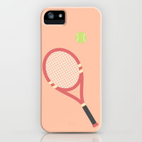 #19 Tennis iPhone & iPod Case by MNML Thing
