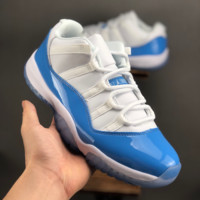 "Air Jordan 11 Low ""Columbia Blue"" Sneaker - Best Deal Online"