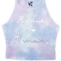 Raised By Mermaids Cotton Candy Crop